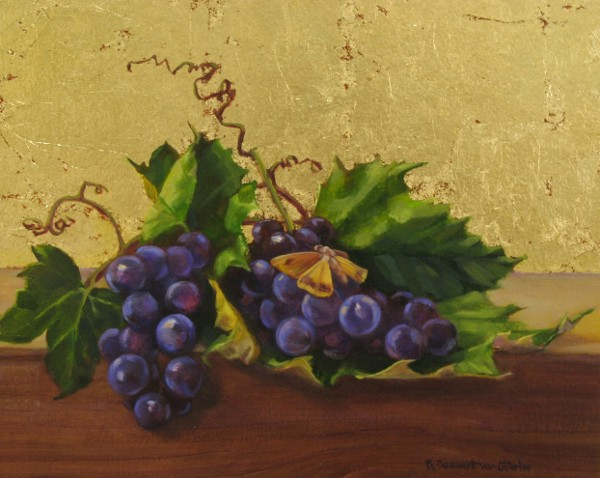 Grapes and Moth