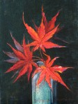 Japanese Maple Leaves in Jar